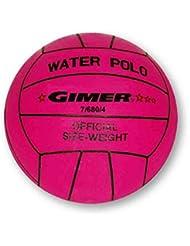 Gimer 7/680/4 Para Mujer, Diseño de Balón de Waterpolo, Cerise