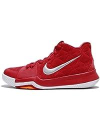 buy popular 3ba5b 80d0a Nike niños Kyrie GS 3, Gris de Lobo Rojo Rojo Universidad Universidad,  Juventud