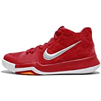 check out 4dd6a 84cea Nike Kids Kyrie 3 GS, University RedUniversity Red-Lupo Grigio, Gioventù