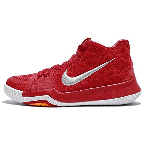 Gs Jugend-schuhe (Nike Kyrie des Kindes 3 GS, Unisity Rot/Unisity Rot-Wolf Gray, Jugend-Größe 6.5 Jugend-Größe 6.5 Universität Rot/Universität Rot-Wolf Grau)