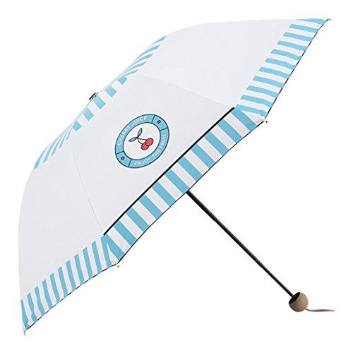 33b31b01ba156 Paraguas  Doble Parasol Vinyl Sunscreen UV Protection Sun Umbrella 30 por  ciento Female Student Cartoon Parasol