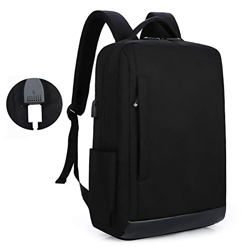 Laptop Rucksack, Travel Computer Bag für Frauen & Männer, Anti Theft Water Resistant College School Bookbag, Slim Business Backpack Fits Under 15