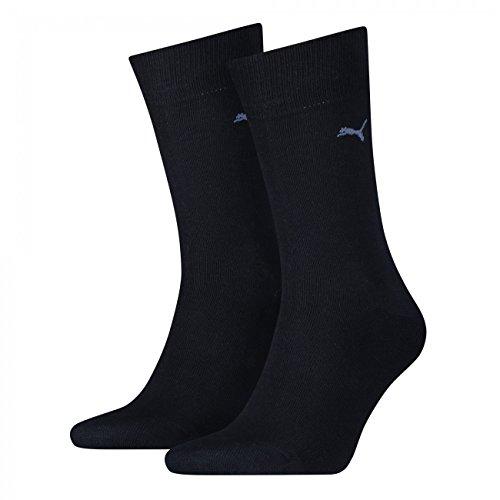 PUMA Herren Casual Socken Classic 4er Pack, Größe:43-46;Farbe:navy -