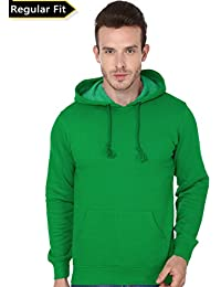 Men's Hooded Sweatshirt-360 (Green Colour)