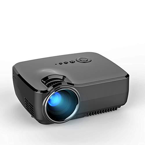 Beamer VIVIBRIGHT GP70, Videobeamer verbindung mit HDMI VGA USB AV Gerät Heimkino Projektor
