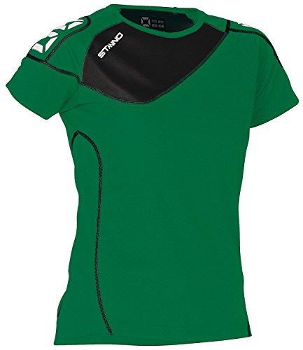 Stanno Montreal maglietta da donna–Nero/Bianco verde-nero