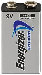 4Energizer Lithium Batteries 9V Lithium 9V Block L522battery 9V FR22battery E-Block from Energizer Batteries