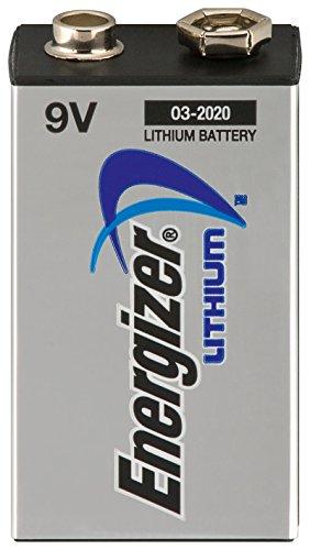 Energizer Lithium 9v (4 Energizer 9V Lithium Batterien Lithium 9V-Block L522-9V-FR22-E-Block (4er Set))