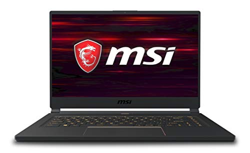 MSI GS65 Stealth 9SE-678IT Notebook Gaming, 15.6'' FHD, Intel Core i7-9750H, 16 GB RAM, 1 TB SSD, Scheda Grafica Nvidia RTX 2076, 6GB [Layout Italiano]