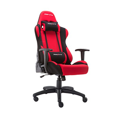 Deer Hunter Chaise de gaming Racing Chaise inclinable rotatif à 360 degrés Rouge Bleu Vert Grille Tissu