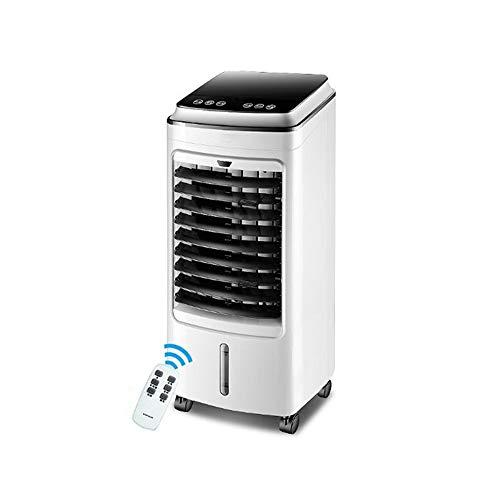 Mobile Klimaanlage XIAOYAN Einzelner kalter Typ Kleiner kalter Lüfter-Luftkühler mit doppeltem Wassertank mit Fernbedienung - für Heimschlafsaalbüro - 75W