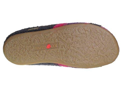 Haflinger Prisma 481004, Chaussons mixte adulte Violet