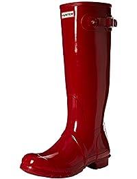 Hunter Original Tall Gloss, Botas de Estar por Casa para Mujer