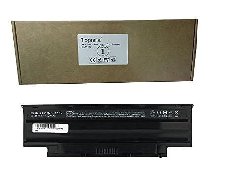 Topnma®Ultra Hochleistung Notebook Laptop Batterie Li-ion Akku für Dell Inspiron DELL Inspiron 13R 14R 17R 15R M501 M501R N3010 N4010 N5010 N7010 Vostro 3450 / 3550 / 3750 BATTERY: J1KND, 04YRJH, FMHC10, TKV2V, YXVK2, J4XDH, 9TCXN, 9T48V, 965Y7, 4T7JN, 312-0234, 383CW, 312-0233, 07XFJJ, 451-11510 CGR-B 6Q5AW WT2P4 08NH55 312-0233 312-1205Notebook Battery (4400MAH-6