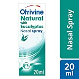 Otrivine Congestion Relief Nasal Spray Natural with Eucalyptus 20 ml
