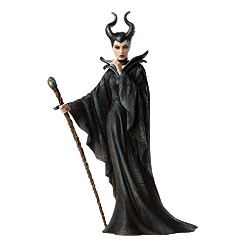 Enesco 4045771 Disney Show Case Figurina, Maleficiente, Resina, 30,5 cm