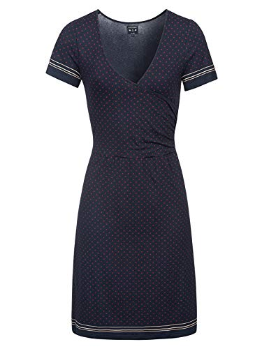 Vive Maria Deauville WrapDress Blue Allover, Größe:XL -