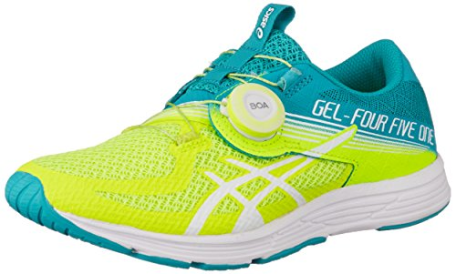 ASICS Damen GEL-451 Laufschuhe, Gelb (Flash Yellow/Lagoon 750), 39.5 EU (Flash Running Schuhe Asics Gel)