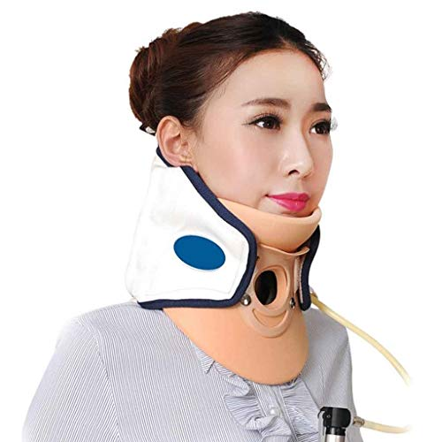 Zone Soft Air-Druck Cervical Neck Traction Schulter, Rücken, Wirbelsäule, Cervical Pain Relief (Color : B) -