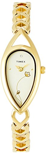 Timex Bangle Analog White Dial Women's Watch - TI000O50000 image