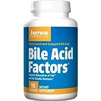 Jarrow Bile Acid Factors (90 Capsules,