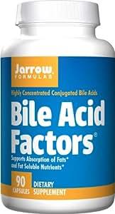 Jarrow Bile Acid Factors (90 Capsules, 333mg)