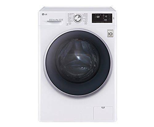 LG Electronics F 14U2 VDN1H Waschmaschine FL / A+++ / 174 kWh/Jahr / 1400 UpM / 9 kg / 9500 L/Jahr / weiß / 14 vorprogrammierte Programme / Smart Diagnosis