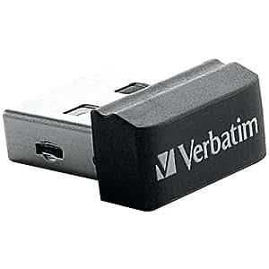 Verbatim 98130 Store 'n' Stay Nano USB 2.0 Flash Drive, 32 GB