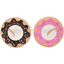 BESTOYARD Donut Gafas Cosplay Accesorio Traje de Fotos Divertido Vestir Gafas para Niños Adultos Cumpleaños Boda