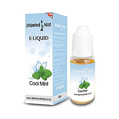Diamond Mist 10 ml Cool Mint E-Liquid by Diamond Mist