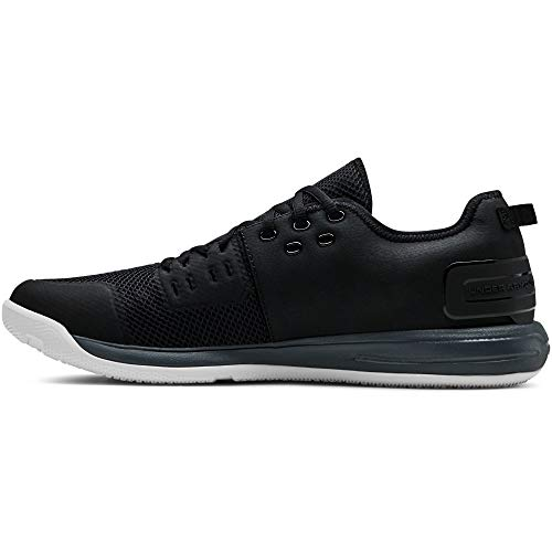 Under Armour Charged Ultimate 3.0, Scarpe Sportive Indoor Uomo, Nero (Black Pitch Gray 001), 42 EU