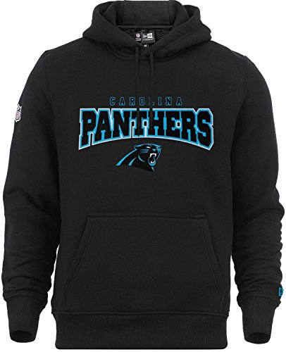 New Era Herren Oberteile / Hoody NFL Ultra Fan Carolina Panthers schwarz S