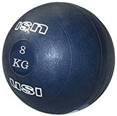 Energie Fitness Imported Commercial use USI slam ball 8 kg (Blue Color )