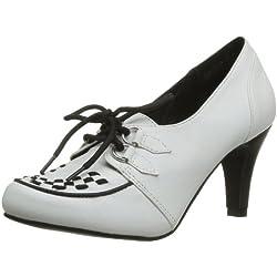 T.U.K. Shoes Anti Pop Heel Creeper Styling, Damen Pumps