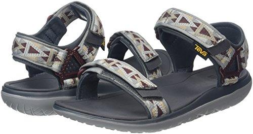 Teva Herren Terra-Float Universal Sandalen, Grau (Mosaic Grey/Chocolate-Mgchmosaic Grey/Chocolate-Mgch), 42 EU -