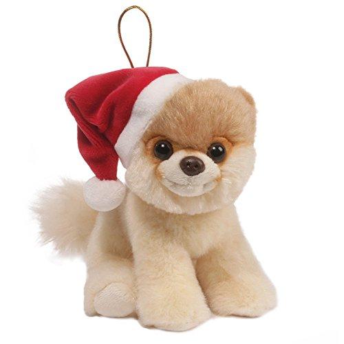 GUND- World's Cutest Dog Hitty Boo en Pere Noel, 4059120