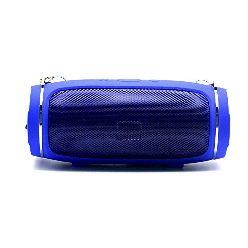 Kadinuoshangmao Tragbarer Bluetooth-Lautsprecher, lautere Lautstärke, kristallklarer Stereo-Sound, satter Bass, 100-Fuß-Reichweite, IPX5, Bluetooth-Lautsprecher (blau)