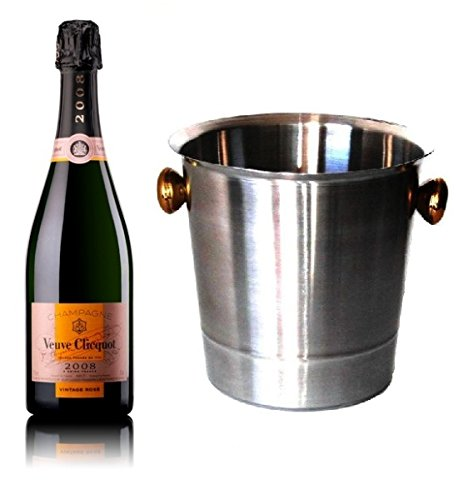 Veuve Clicquot Champagner Rosé Vintage Champagner Kühler 12% 0,75 l. Fl.