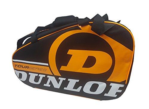 Dunlop TOUR COMPETITION - Paletero de pádel, 2017, color negro/naranja