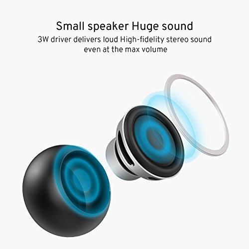 Altavoces Bluetooth, Techvilla Mini Altavoz inalámbrico portátil