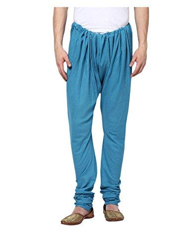 Yepme Men's Blue Cotton Churidar - YPMCHD0015_XL  available at amazon for Rs.239