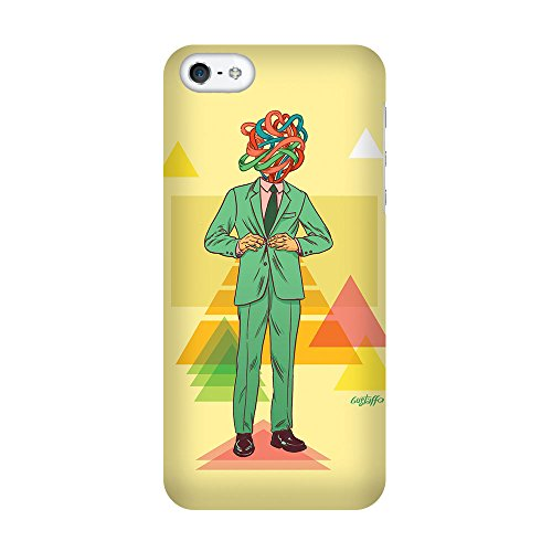 iPhone 5C Coque photo - hippie jaune