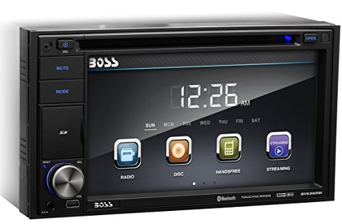Boss-Audio-In-Dash-Bluetooth-Double-Din-62-inch-Touchscreen-DVDCDUSBSDMP4MP3-Player-Receiver-with-Hands-Free-and-Remote