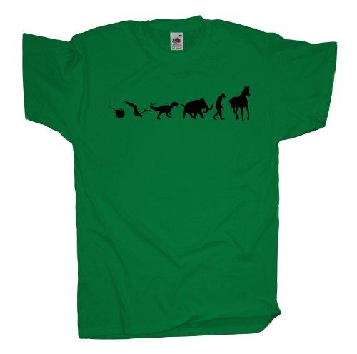 Ma2ca - 500 Mio Years Pferde T-Shirt Kelly