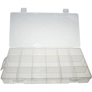 Universal Empty Storage Box / Assortment Box / Storage Container with 18 Compartments