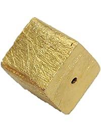 41013–4mm Cubo de verg. 925de plata derecho gebohrt
