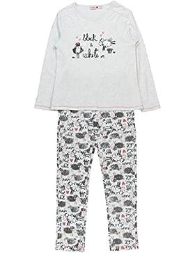 Boboli Pijama Interlock De Niña Para Niñas