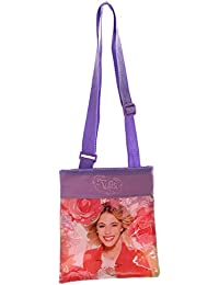 Petit sac bandoulière enfant fille Violetta Rose/violet 20cm