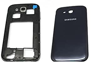 Full body replacement housing panel for Samsung Galaxy Grand Quattro GT-I8552 (Black)