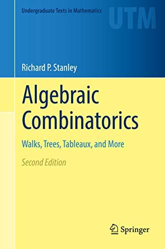 Algebraic Combinatorics: Walks, Trees, Tableaux, and More (Undergraduate Texts in Mathematics) (English Edition)